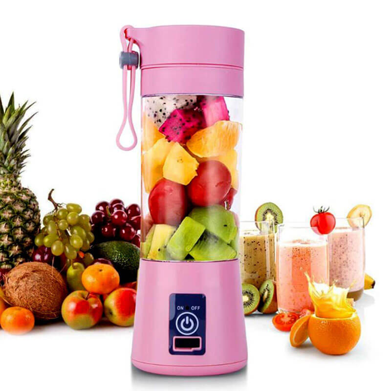 Rechargeable Electric portable Juicer portable Smoothie Maker - Blender Machine