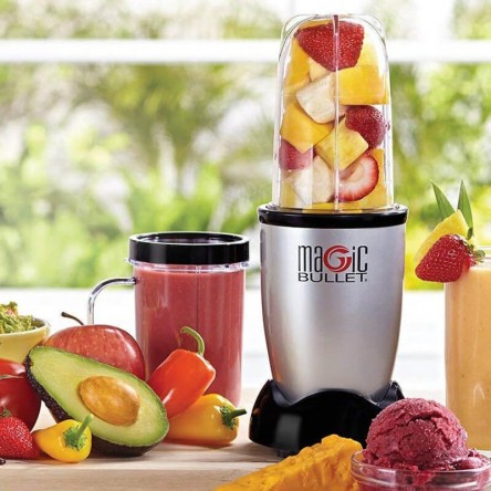 Original Magic Bullet - Hi-Speed Blender/Mixer System 21 Pcs Set