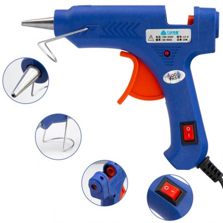 Hot Glue Gun, High Temperature Glue Gun for DIY Crafts, Projects, Fast Home Repairs & Creative Arts