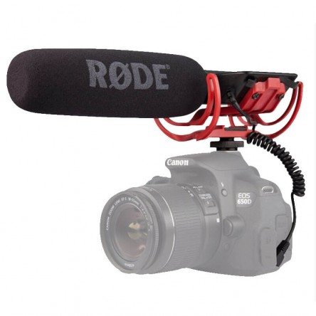 Rode VideoMic Camera Mount Shotgun Microphone with Rycote Lyre Shock Mount