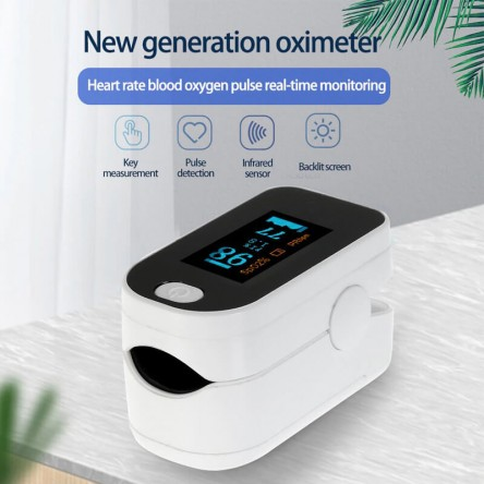 Digital Pulse oximeter OLED Display Blood Oxygen Sensor Saturation Mini Heart Rate Monitor SpO2 Health Monitor